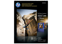 """Advanced Photo Paper, 56 lbs, Glossy, 8-1/2"""" x 11"""" - Pack of 25 Sheets"""