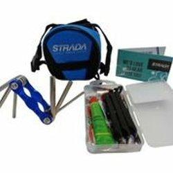 Bicycle Saddle Bag Tire Puncture Repair Kit And Multi-toolkit