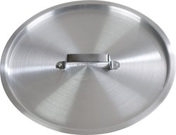 Carlisle Aluminum Cooker Lid For 8.5-qt. Tapered Sauce Pan - Pack of 6