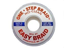 "EasyBraid OS-D-100 100' Length 0.1"" Width One-Step Desoldering Braid Wick"