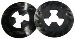 "3M Ribbed 5"" Diameter Disc Pad Face Plate - Pack of 10"