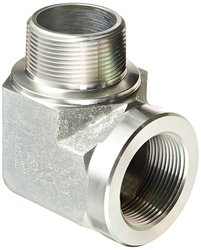 "Eaton Aeroquip 1.5"" NPT Male x 1.5"" NPT Female 90 Deg. Elbow Pipe Fitting"