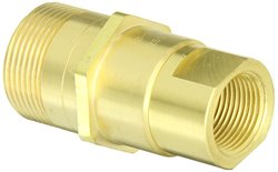 "EH 3/4""-14 NPT F Brass Thread to Connect Hydraulic Plug with Tubular Valve"