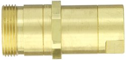 "EH 1/4""-18 NPT F 1/4""-Port Brass Thread-to-Connect Hydraulic Fitting"
