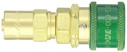 """EH GR60B3SL 1/4""""-Hose ID 1/2""""-Hose OD Quick-Connect Pneumatic Fitting"""