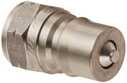 "EH 1/2""-14 BSPP F Stainless Steel 303 ISO-B Interchange Hydraulic Fitting"