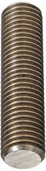 """Small Parts 4"""" 18-8 Stainless Steel Right Hand Fully Threaded Stud"""
