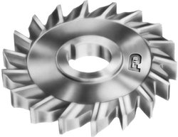 """F&D Tool 2"""" Diameter 3/8"""" Width of Face 5/8"""" Hole Size Side Milling Cutter"""