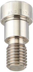 "Accurate 3-1/2"" #10-24 Hex Socket Stainless Steel Shoulder Screw"