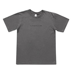 Cadillac Men's Anvil Fashion T-Shirt - Charcoal - Size: Medium