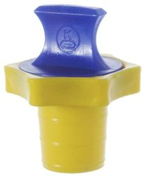 Kimax S6559-2 HDPE Linear Stopper - Size: 9