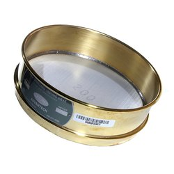 "Advantech Test Sieves - Brass - 8"" Diameter 12""Mesh - Half Height"