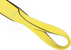 Mazzella EE1-904 Edgeguard Polyester Web Sling - Yellow - Size: 15' Length