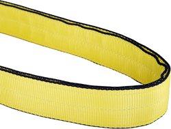Mazzella EN2-901 Edgeguard Polyester Web Sling - Yellow - Size: 10' Length