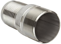 "Dixon RST80 SS 316 Hose Fitting - 8"" NPT Male x 8"" Hose ID Barbed"