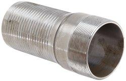 "Dixon IXM64 Carbon Steel Holedall Fitting - 4"" NPT Male x 4"" Hose ID"