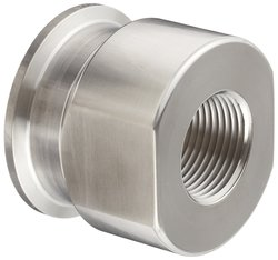 "Dixon 22MP-R10075 SS 316L Sanitary Fitting - 1"" Tube OD x 3/4"" NPT Female"