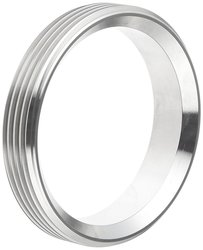 """Dixon 15TRF-G400 Stainless Steel 304 Sanitary Fitting - 4"""" Tube OD"""