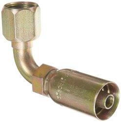 Eaton Coll O Crimp 33606E-668 90 Degree Female Swivel Tube Elbow Fitting
