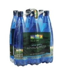 Field Day Water Ital Spklng Mineral Pack of 6