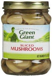 Green Giant Sliced Mushrooms Glass Jar - 45 oz