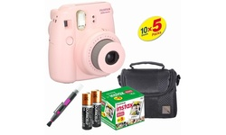 Fujifilm Instax Camera Bundle - Pink (Mini 8)