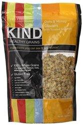 Kind Fruit & Nut Bars Clusters - Oat & Honey Coconut - 11 Oz