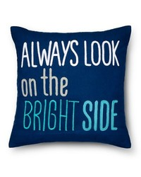 "Pillowfort Bright Side Throw Pillow - Blue - Size: 18"" x 18"""