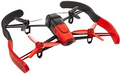 Parrot BeBop Drone Quadcopter with 14 Megapixel Flight Camera - Red