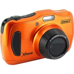 Coleman Xtreme4 C30WPZ Waterproof HD Digital Camera (Orange)