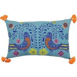 Molly 'n Me Birds in Bloom Pillow