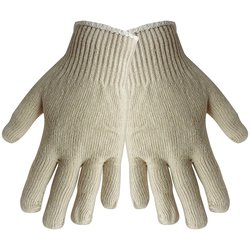 Global Glove Women's S400 String Knit Working Glove - Pk of 300- Grey- One