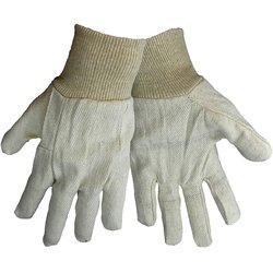 Global Glove Women's C80 Canvas Wing Thumb Working Glove- Pk of 300- Grey