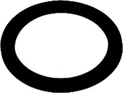 Aviditi 1/2-Inch Dielectric Union Gasket - Pack of 10