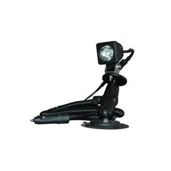 LE 45'X40' Flood 3 Watt Colored LED Spotlight on Suction Cup Mount