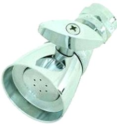 Aviditi Solid Brass Shower Head with 2-Inch Face - Chrome