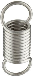 """Small Parts Extension Spring 10 Pc 7"""" Free Length 10.41 lbs/in Spring Rate"""