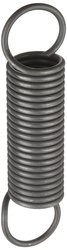 """Small Parts Extension Spring 10 Pc7.5"""" Free Length 14.5 lbs/in Spring Rate"""