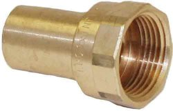 """Apollo Valves Female Copper Street Adapter 10 Pack - Size: 1/2"""""""