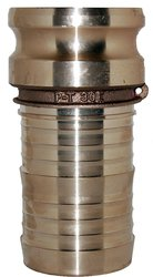PT Coupling 30E Brass Cam & Groove Hose Fitting - Size: 3""