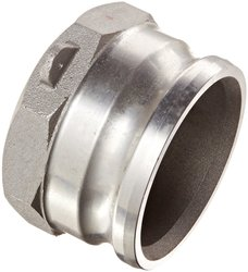 "PT Coupling Aluminum Reducer Cam & Groove Hose Fitting - Size: 4"" x 2-1/2"""