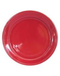 Threshold Camden Round Dinner Plate 4Set - Red