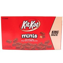 Kit Kat Minis King Size - Pack 2.2 oz, 12, full
