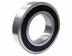 C&U HC6204-2RZC3 Deep Groove Ball Bearing with Steel Rings & Ceramic Balls