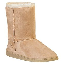 Dawgs's Women's 9 Inch Microfiber Boots: Natural/8