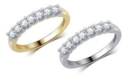 0.50cttw Diamond Band: Yellow Gold-size 6