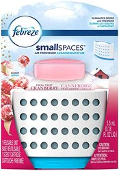Febreze Small spaces Fresh Twist Cranberry Starter Kit Air Freshener (1 Count, 5.5 Ml), 0.009 Pound