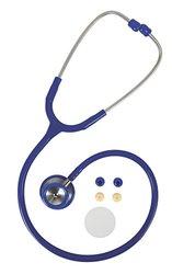 Medline Accucare Elite Stethoscope - Blue - Stainless steel