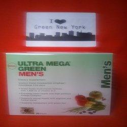 Gnc Ultra Mega Green Men's Vitapak Tablets, 30 Count
