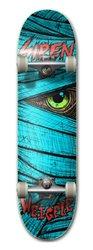 Siren Complete Weigele Lazarus Skateboard Deck - Blue - Size: 8